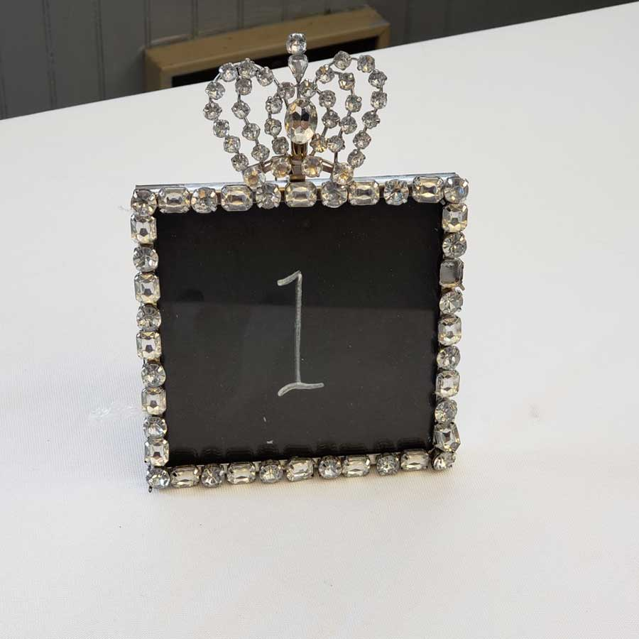 Bling Table Number Holders (24) - $2 ea.