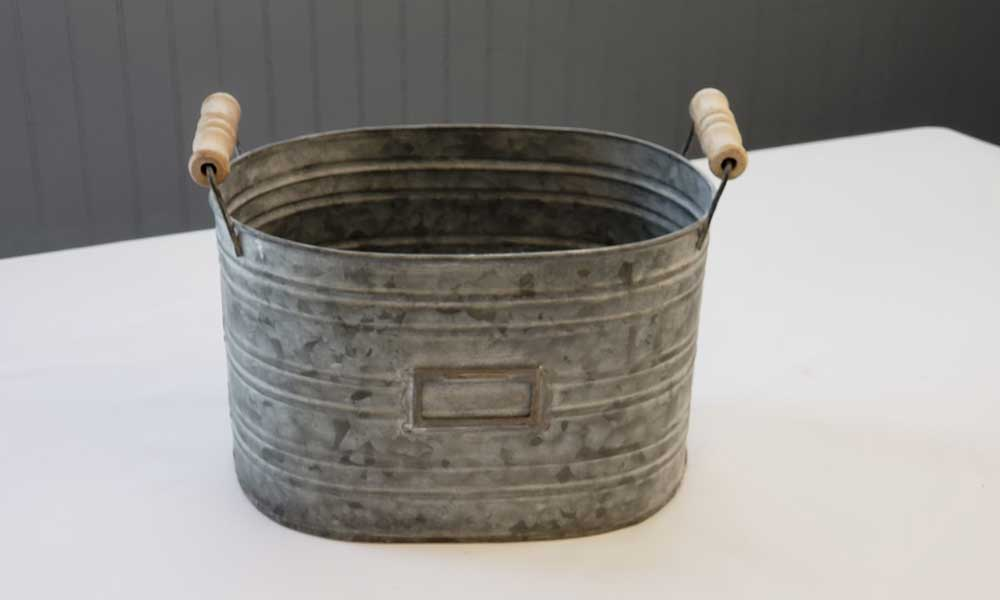 Oval Rustic Bucket (3)