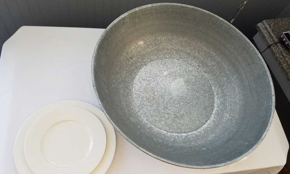 Super Sized Metal Bowl (1)