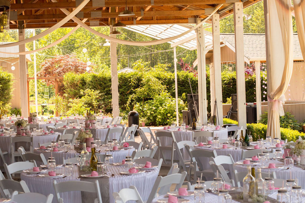 Winding Path Gardens Wedding Area